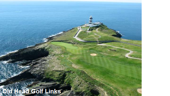Ballybunion Golf Hotel. Ballybunion has been rated one